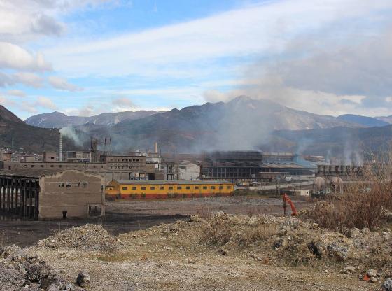 Elbasan pollution