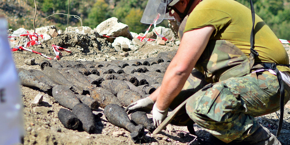 Unexploded military ammunitions still threaten lives