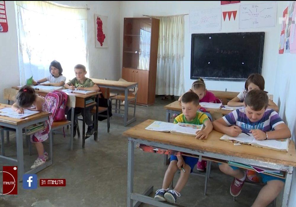 Shkolla me vetëm një klasë e 8 nxënës