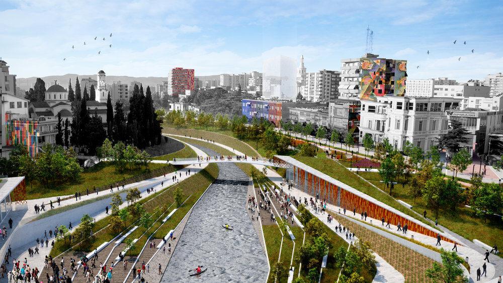"""Lumi Gjanica dhe """"fasadat"""" që nuk e fshehin dot ndotjen"""