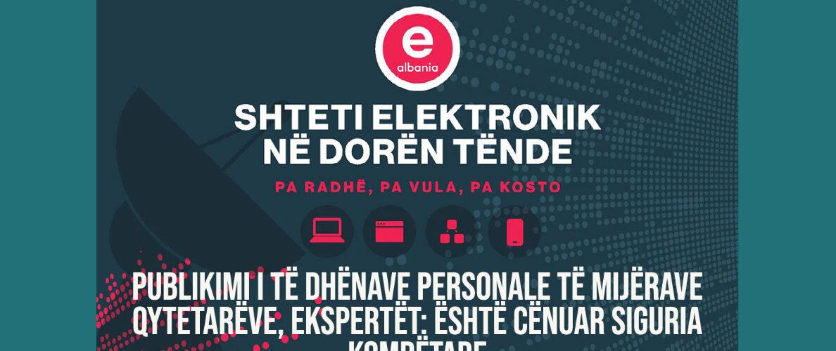 Publikimi i të dhënave personale të mijërave qytetarëve, ekspertët: Është cënuar siguria kombëtare