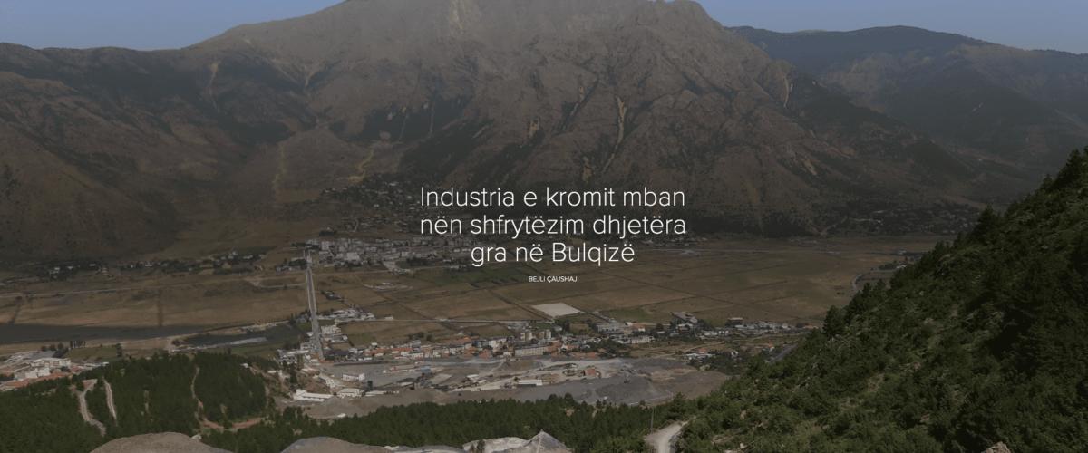 Industria e kromit mban nën shfrytëzim dhjetëra gra në Bulqizë