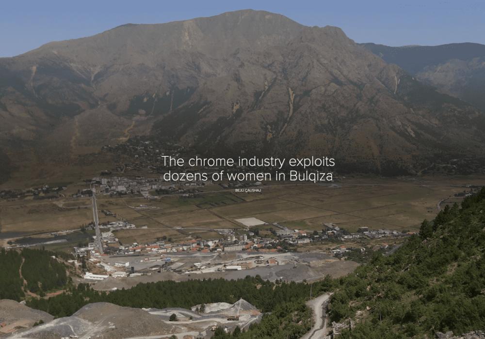 The chrome industry exploits dozens of women in Bulqiza