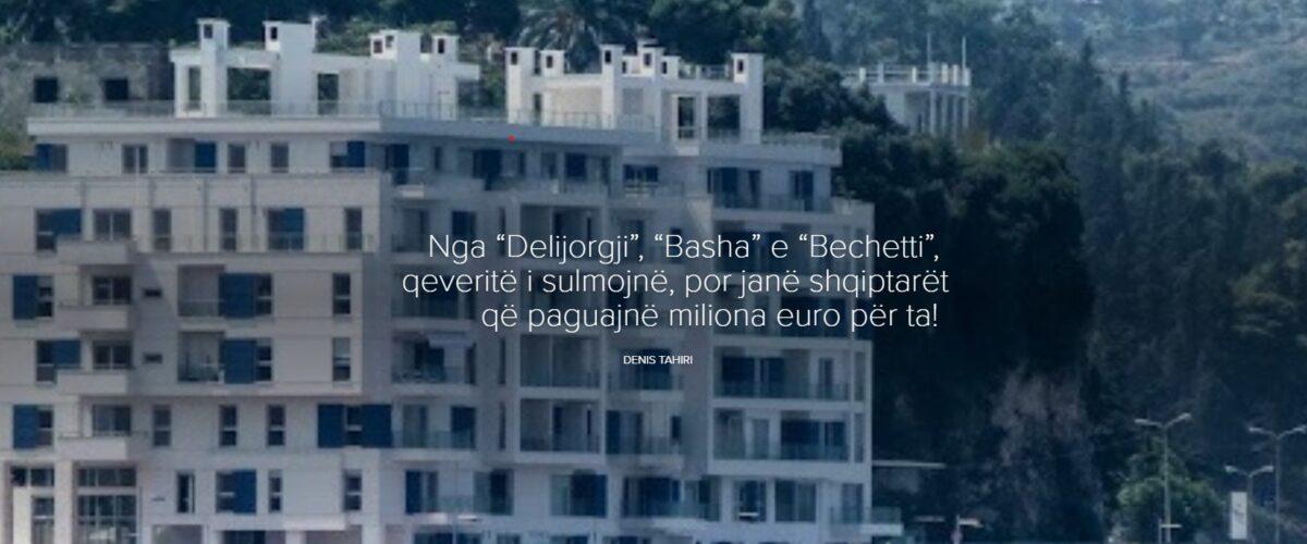 """Nga """"Delijorgji"""", """"Basha"""" e """"Bechetti"""", qeveritë i sulmojnë, por janë shqiptarët që paguajnë miliona euro për ta!"""