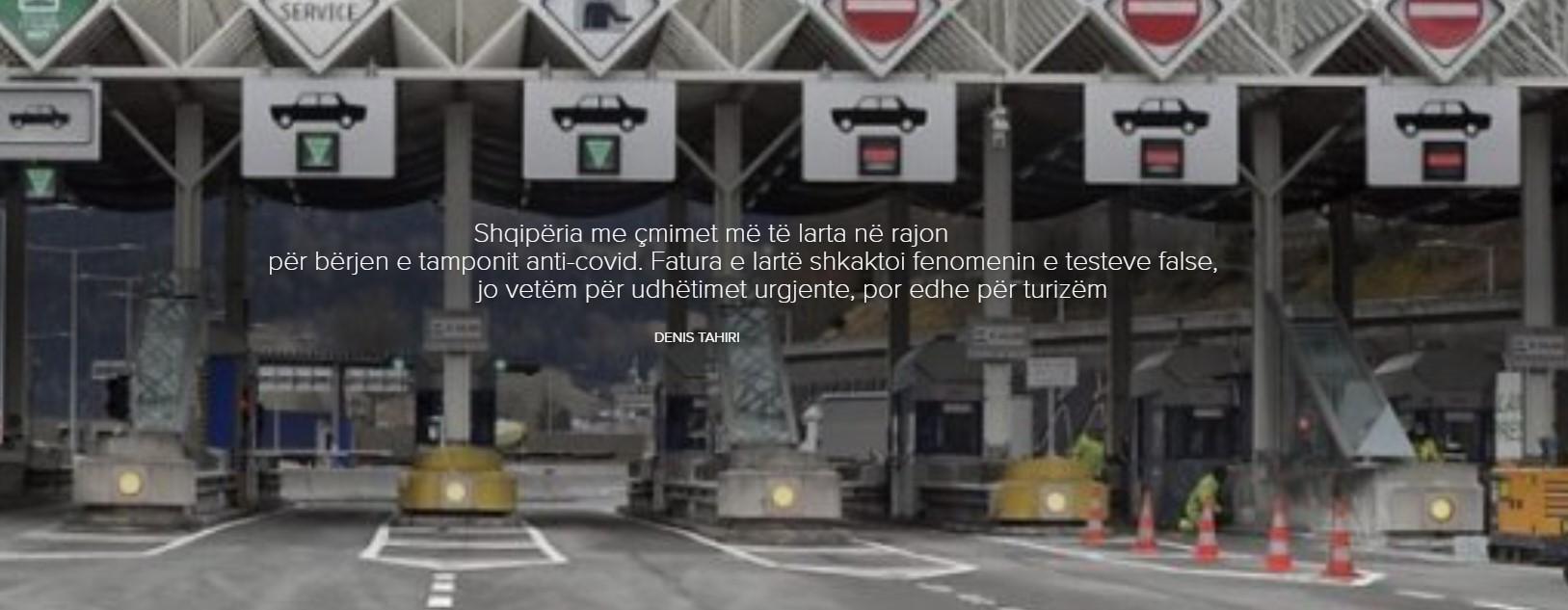 Shqipëria me çmimet më të larta në rajon për bërjen e tamponit anti-covid.  Fatura e lartë shkaktoi fenomenin e testeve false, jo vetëm për udhëtimet urgjente, por edhe për turizëm