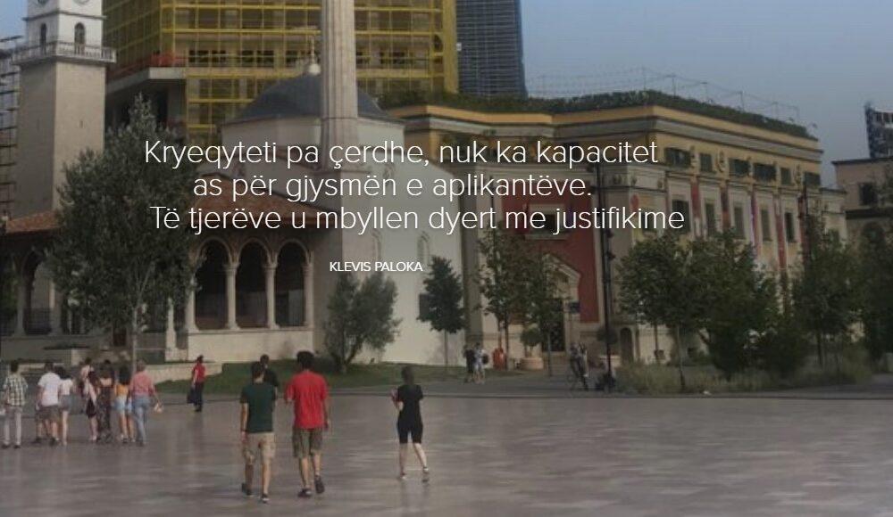 Kryeqyteti pa çerdhe, nuk ka kapacitet as pёr gjysmёn e aplikantёve. Tё tjerёve u mbyllen dyert me justifikime